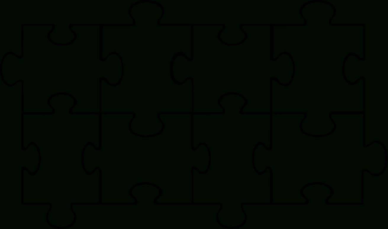 Free Puzzle Pieces Template, Download Free Clip Art, Free Throughout Blank Jigsaw Piece Template