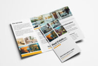 Free Real Estate Trifold Brochure Template In Psd, Ai with Tri Fold Brochure Publisher Template