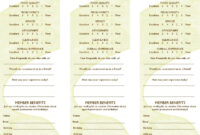 Free Restaurant Comment Card Template Dramakoreaterbarucom pertaining to Table Reservation Card Template