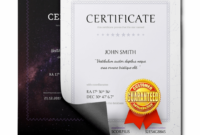 Free School Certificates & Awards Template Name A Star regarding Star Naming Certificate Template
