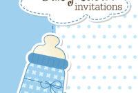Free Shower Invitation Template Luxury Free Baby Invitation Regarding Free Baby Shower Invitation Templates Microsoft Word