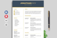 Free Simple Resume & Cv Templates Word Format 2020 | Resumekraft with How To Find A Resume Template On Word