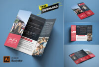Free Single Gatefold Brochure Download On Behance pertaining to Gate Fold Brochure Template Indesign