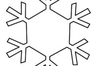 Free Snowflake Line Art, Download Free Clip Art, Free Clip with regard to Blank Snowflake Template