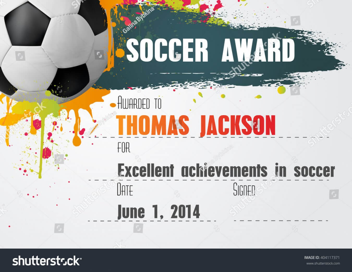 Free Soccer Certificate Template Free Condofinancials Free Inside Soccer Certificate Template Free