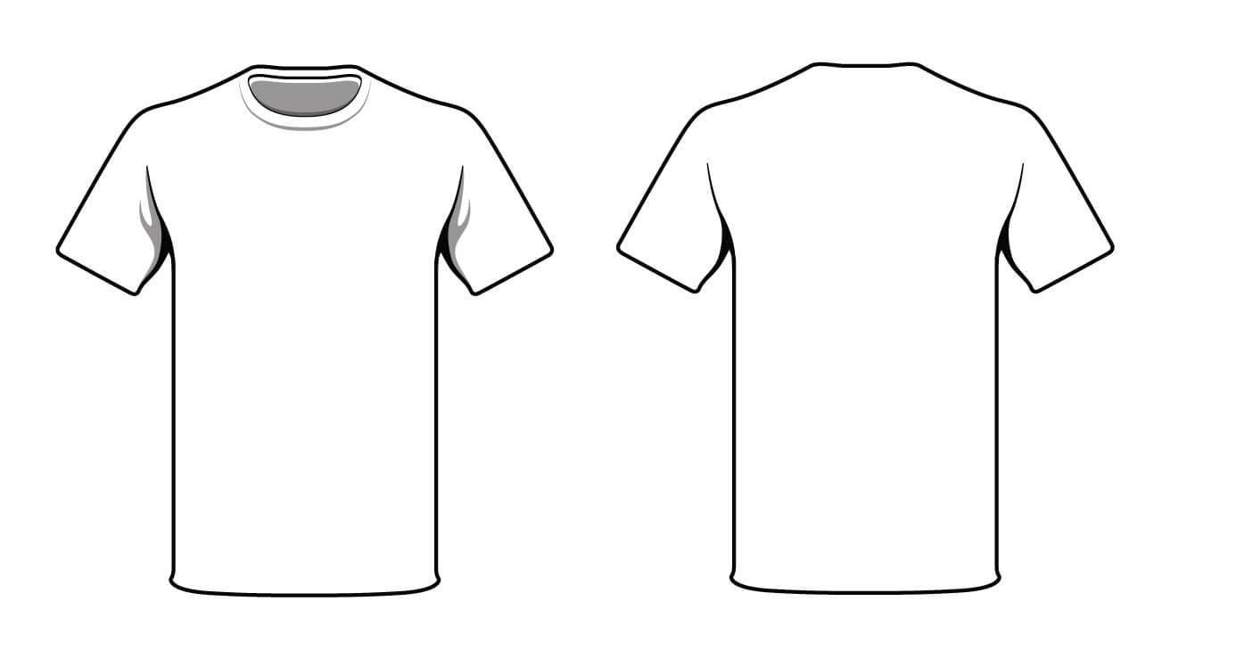 Free T Shirt Outline Template, Download Free Clip Art, Free Regarding Blank T Shirt Outline Template
