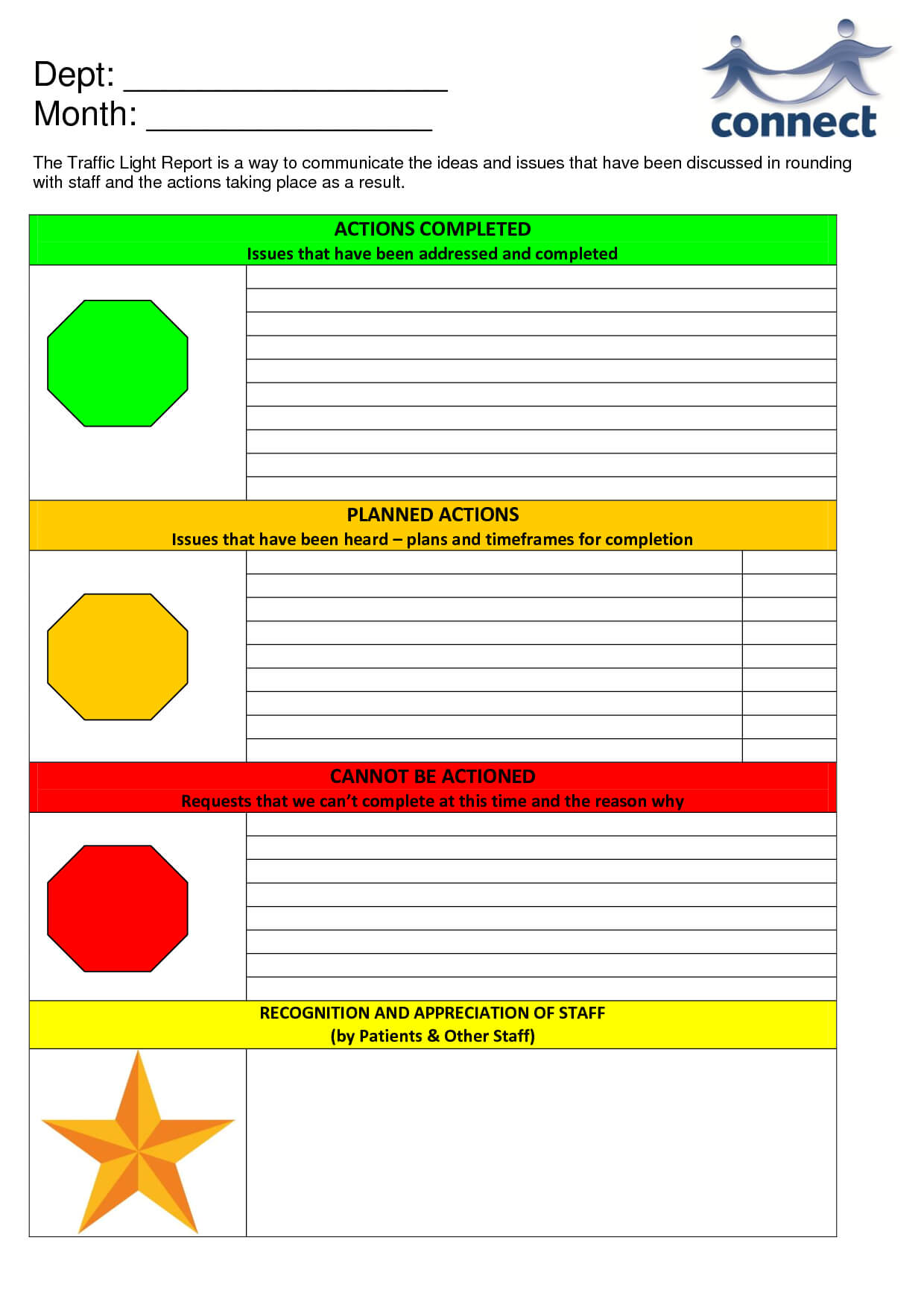 Free Traffic Light Template, Download Free Clip Art, Free With Stoplight Report Template