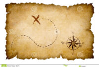 Free Treasure Map Outline, Download Free Clip Art, Free Clip with Blank Pirate Map Template