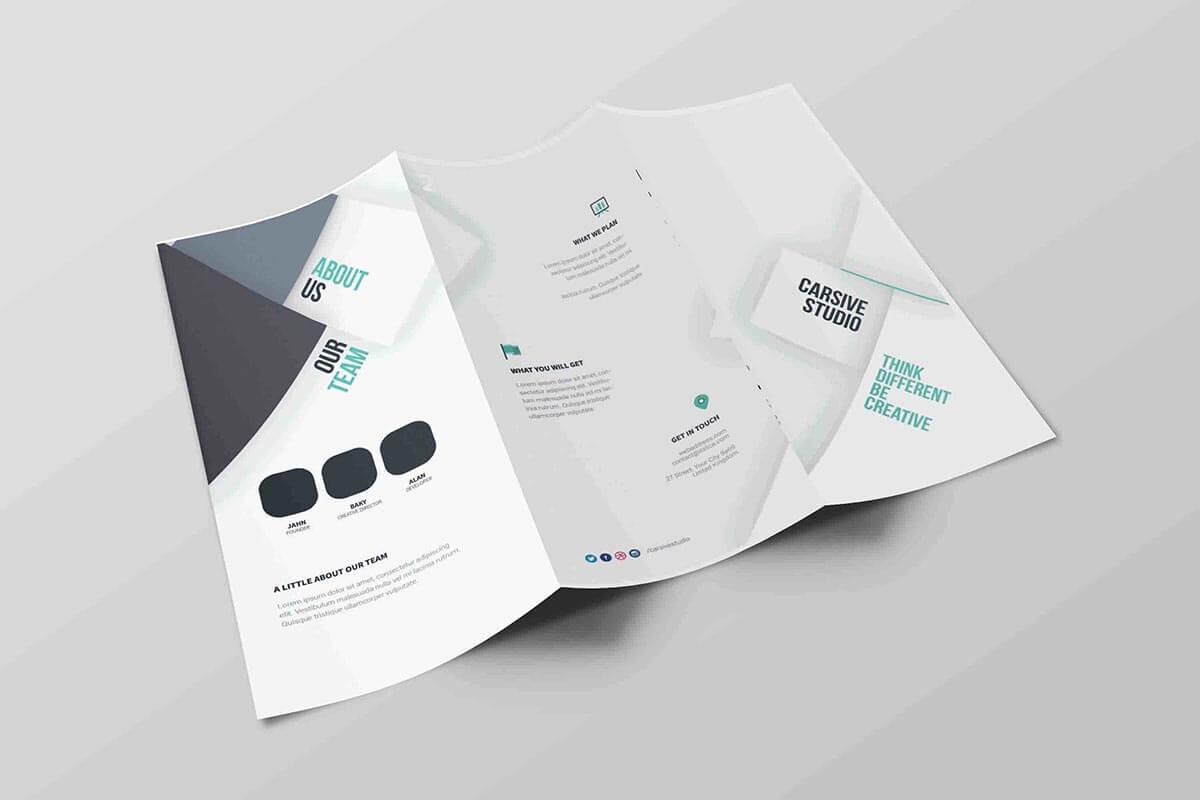 Free Tri Fold Brochure Psd Template – Creativetacos Intended For Brochure Psd Template 3 Fold