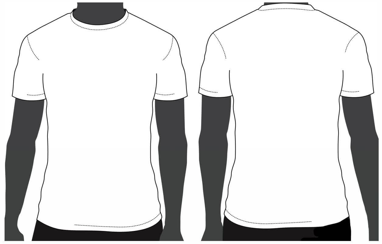 Free Tshirt Template, Download Free Clip Art, Free Clip Art Regarding Blank T Shirt Design Template Psd