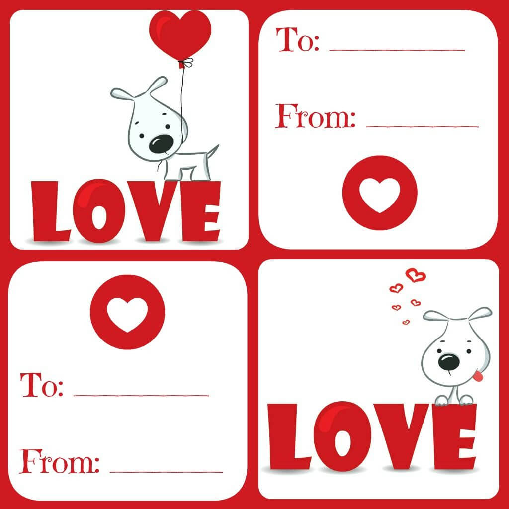 Free Valentines Card Printable For Kids - Daily Dish With For Valentine Card Template For Kids