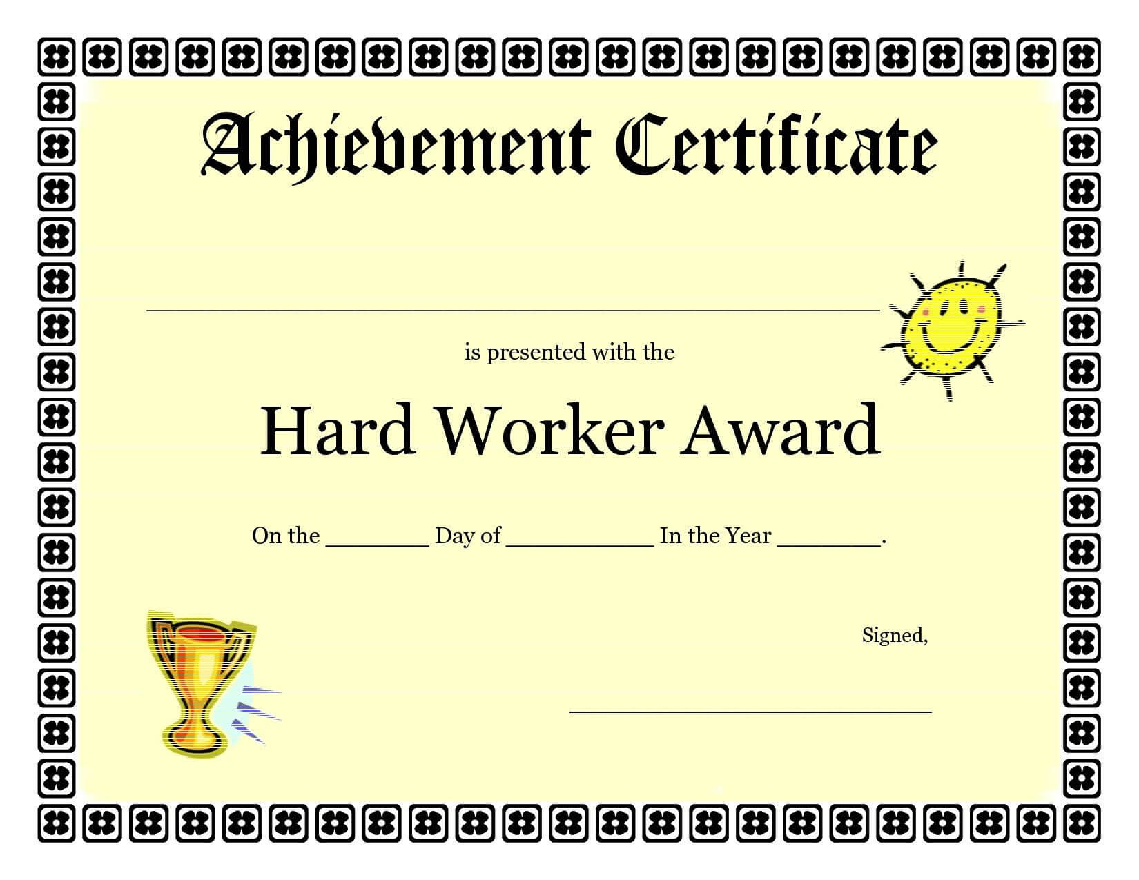 Free Vbs Certificate Templates New Printable Achievement For Free Printable Student Of The Month Certificate Templates