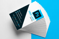 Free Vertical Business Card Template In Psd Format with regard to Free Business Card Templates In Psd Format