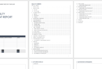 Free Vulnerability Assessment Templates   Smartsheet within Physical Security Risk Assessment Report Template
