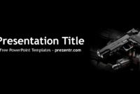 Free Weapon Powerpoint Template – Prezentr Powerpoint intended for Depression Powerpoint Template