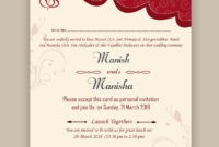 Free Wedding Card Psd Templates In 2020 | Marriage Cards for Indian Wedding Cards Design Templates