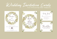 Free Wedding Invitation Card Template – Creativetacos within Free Printable Wedding Rsvp Card Templates