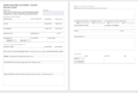 Free Workplace Accident Report Templates | Smartsheet regarding Injury Report Form Template