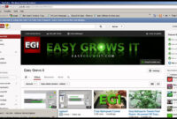 Free Youtube Banner Template & Easy Channel Art How To Gimp pertaining to Youtube Banner Template Gimp