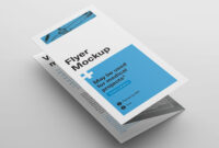 Free Z-Fold Brochure Mockup Psd – Good Mockups | Branding inside Z Fold Brochure Template Indesign