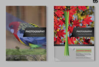 Free Zoo Photography Psd Brochure Template | Free Psd Mockup intended for Zoo Brochure Template