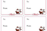 Free+Printable+Christmas+Gift+Tags+Templates | Christmas throughout Printable Holiday Card Templates