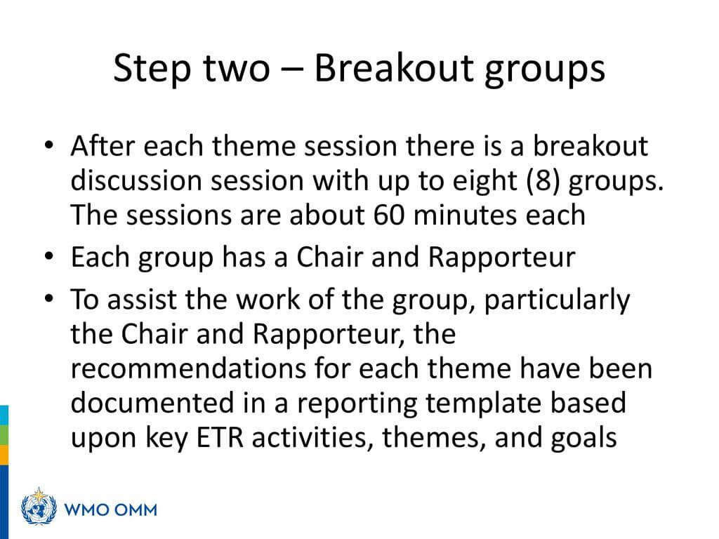 From Presentations To Recommendations – Ppt Download In Rapporteur Report Template