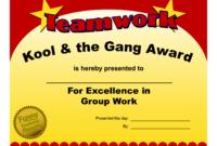 Fun Award Templatefree Employee Award Certificate Templates throughout Fun Certificate Templates