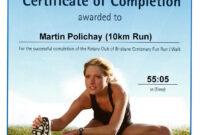 Fun Run Certificate Template ] – Woy Woy To Gosford Fun Run with regard to Running Certificates Templates Free