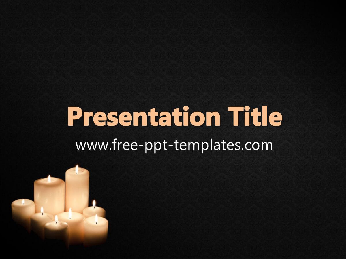 Funeral Ppt Template Regarding Funeral Powerpoint Templates