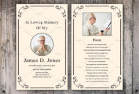 Funeral Prayer Card Template #photoshop#customization#word within Prayer Card Template For Word