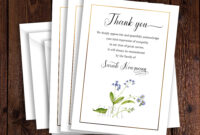 Funeral Thank You Card Template, Sympathy Acknowledgement within Sympathy Thank You Card Template