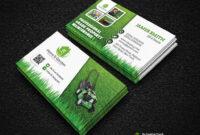 Garden Landscape Business Card Template | Download Here – Gr inside Gardening Business Cards Templates