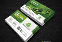 Garden Landscape Business Card Template | Fully Editable Tem throughout Landscaping Business Card Template