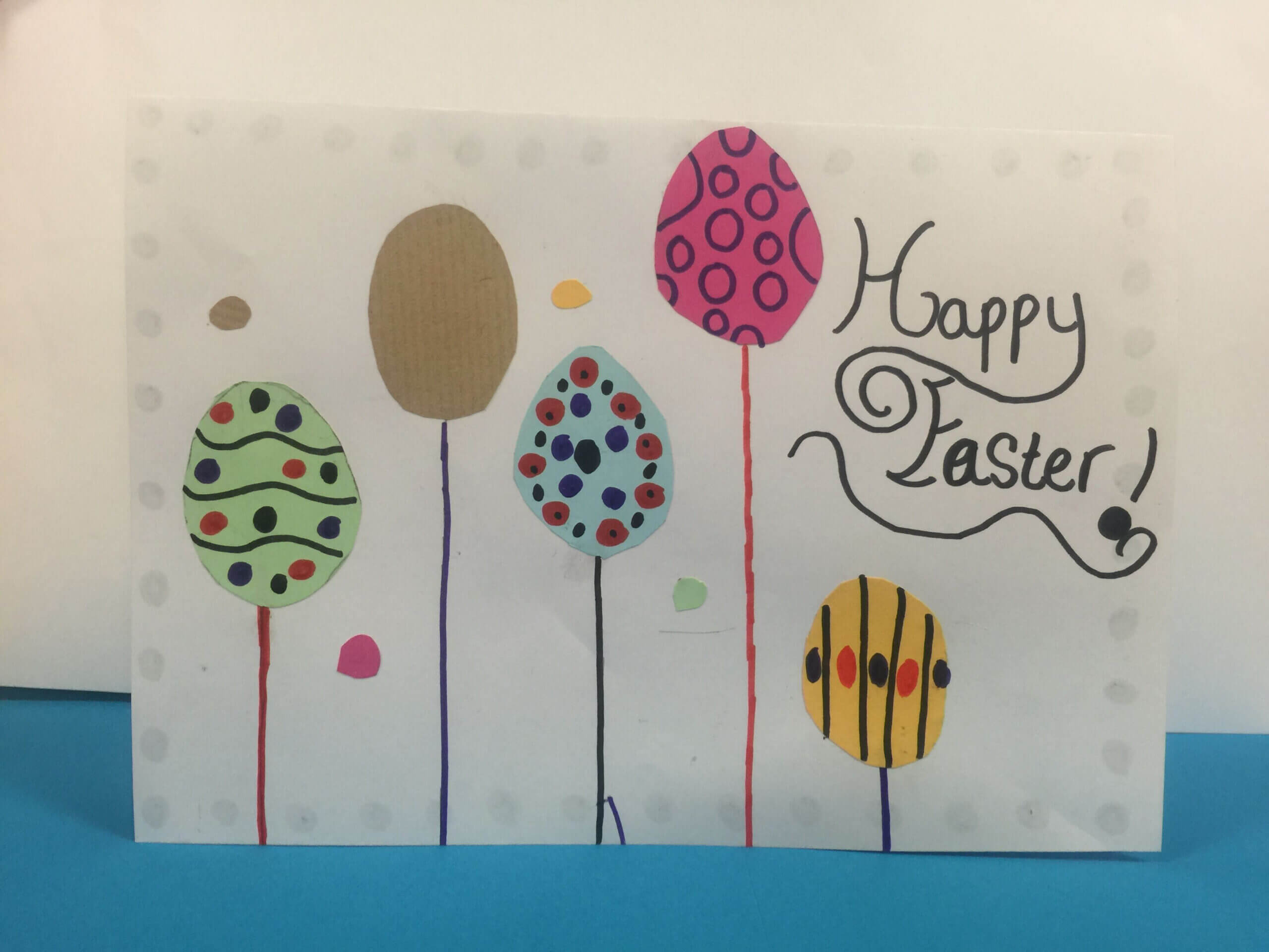 Gartreeadt Incredible Easter Card Ideasyear 6 Ks2 With Regard To Easter Card Template Ks2