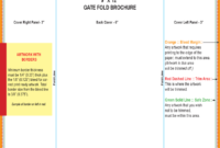 Gate Fold Brochure Template – 6 Free Templates In Pdf, Word with Gate Fold Brochure Template