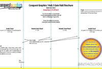 Gate Fold Brochure Template | Brochure Template, Templates in Gate Fold Brochure Template