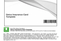 Geico Insurance Card Template Pdf – Fill Online, Printable throughout Fake Auto Insurance Card Template Download