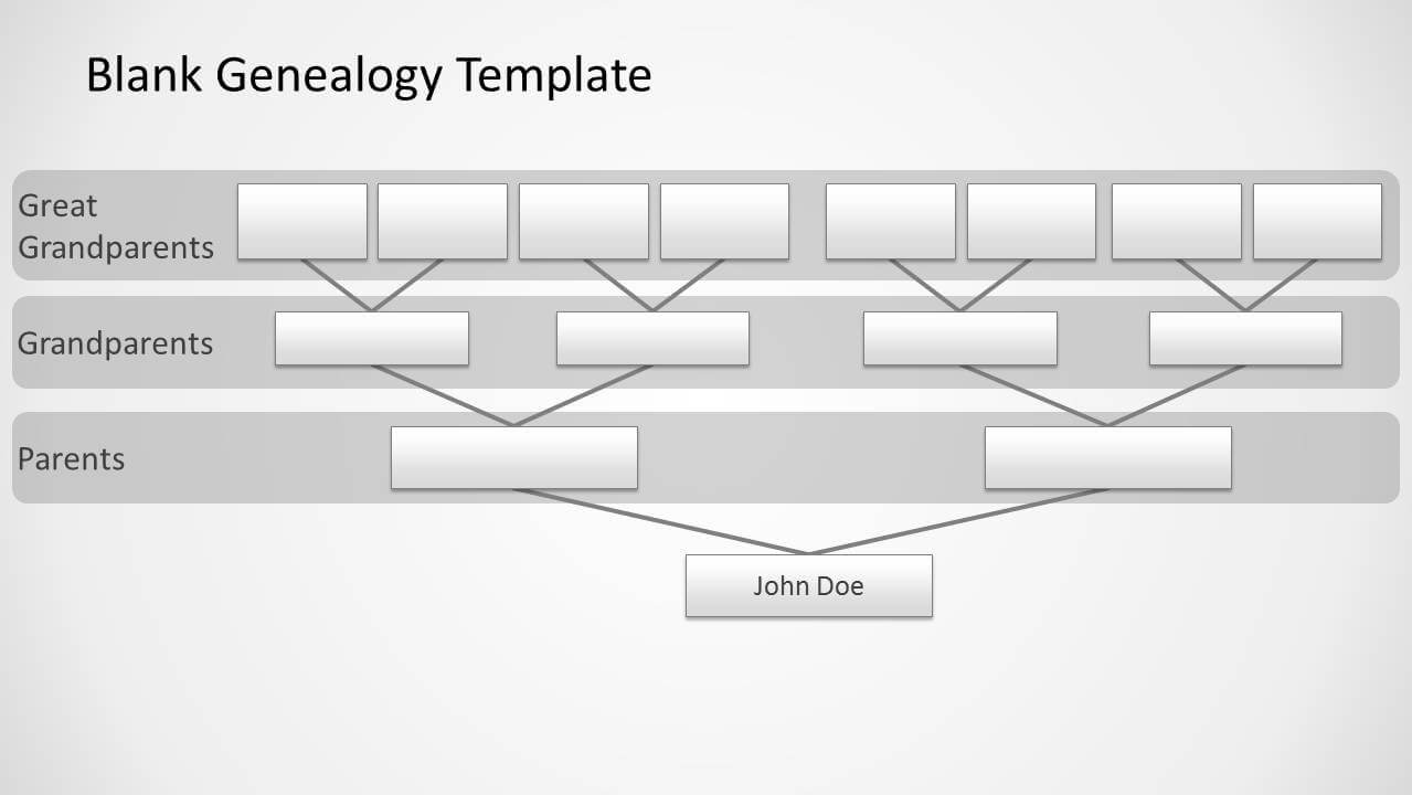 Genealogy Tree Diagram For Powerpoint Pertaining To Powerpoint Genealogy Template
