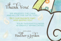 Generic Baby Shower Thank You Wording – Yahoo Image Search pertaining to Template For Baby Shower Thank You Cards