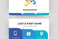 Generic, Business Card Design Template, Visiting For Your pertaining to Generic Business Card Template