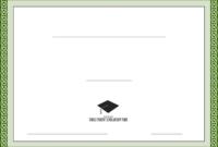 Generic Scholarship Certificate Template Free Download inside Generic Certificate Template
