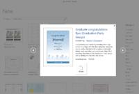 Get Microsoft's Best Graduation Templates intended for Graduation Invitation Templates Microsoft Word