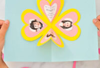 Get The Free Template To Make This Easy Heart Pop Up Card regarding Heart Pop Up Card Template Free