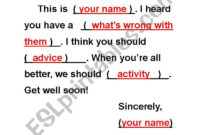 Get Well Soon Card Template – Esl Worksheetcrystalhwang regarding Get Well Card Template