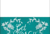 Get Well Soon Card Template | Free Printable Papercraft for Get Well Card Template