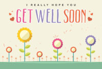 Get Well Soon Card Vector – Download Free Vectors, Clipart with Get Well Soon Card Template