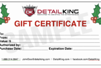 Gift Card Certificate Template New Detail King Special Fers within Promotion Certificate Template