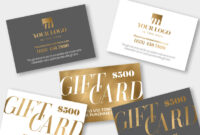 Gift Certificate Templates Indesign Illustrator Gift Coupon within Indesign Gift Certificate Template