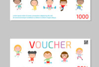 Gift Voucher Template And Kids Voucher Template within Kids Gift Certificate Template